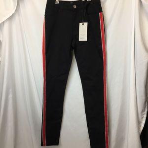 Zara Basic Z1975 Mid Rise Skinny Pants Size 6 NWT
